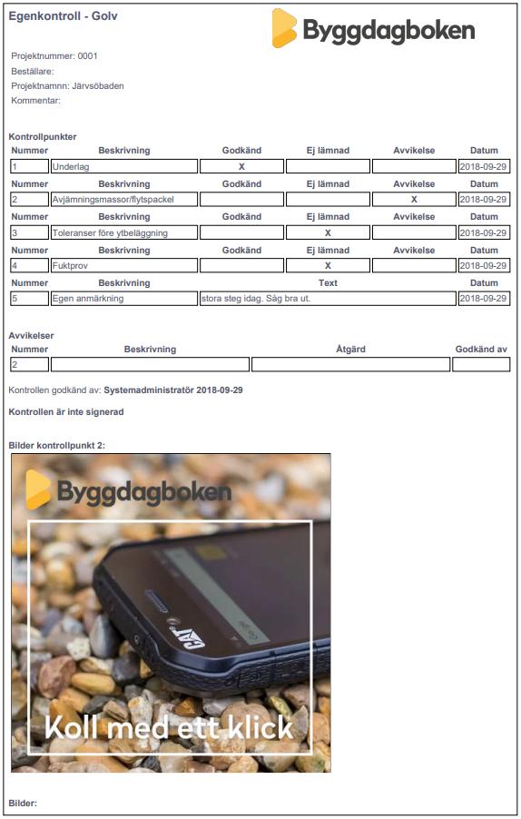 pdf egenkontroll